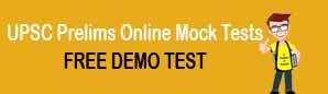 UPSC Prelims Free mock test