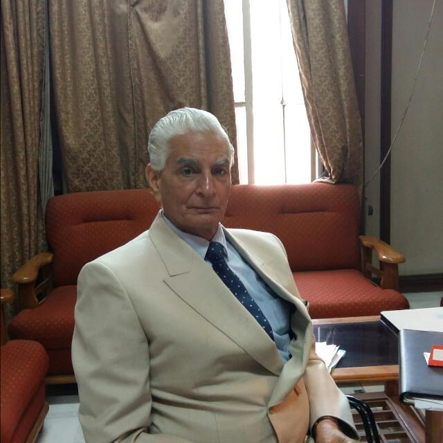 Interview Panel Member- Shri V.K. Kapoor