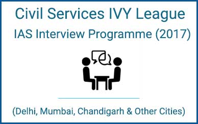 Civil Services IVY League IAS Interview Programme