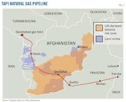 Turkmenistan-Afghanistan-Pakistan-India (TAPI) gas pipeline